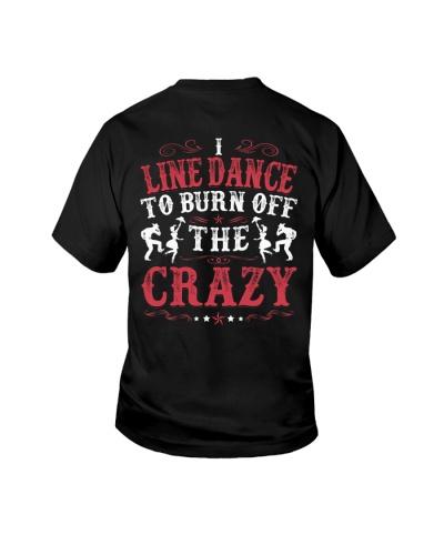 I Line Dance To Burn Off The Crazy