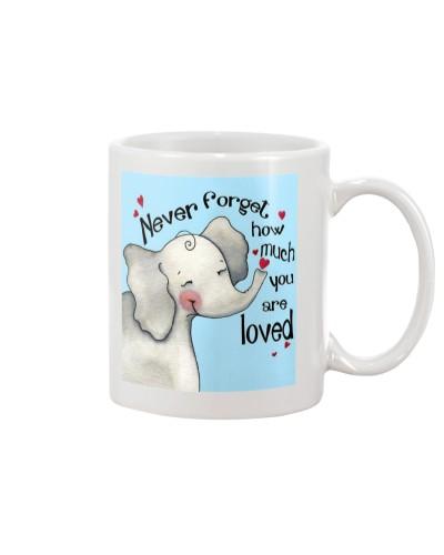 Elephant - Never Forget - Mug