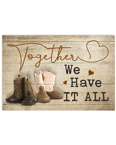 Country - Together We Have It All Kid Boots