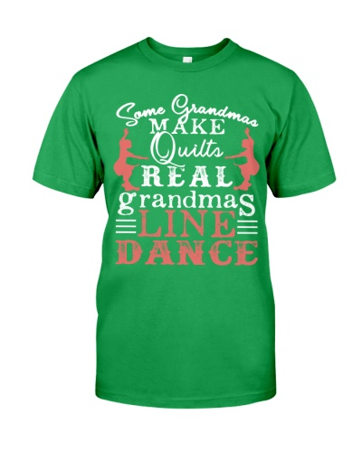 Real Grandmas Line Dance