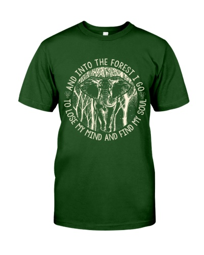 Elephant - And Into The Forest I Go - Shirt