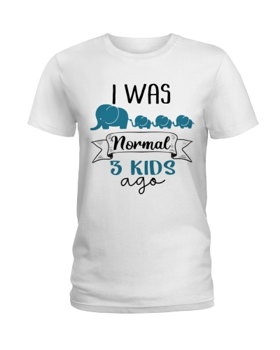 Elephant - I Was Normal Three Kid Ago - Shirt
