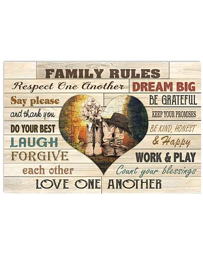 Country - Family Rule With Heart V3