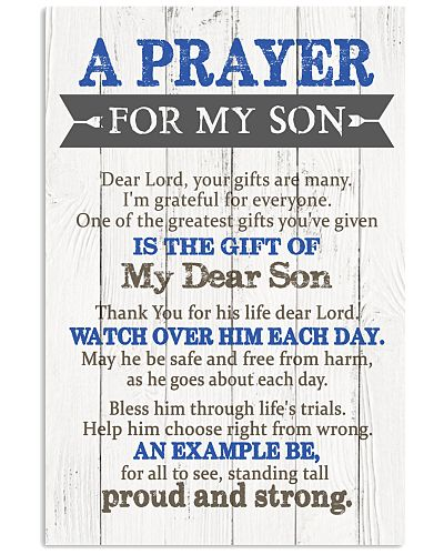 Son Mom - Prayer For Son - Poster
