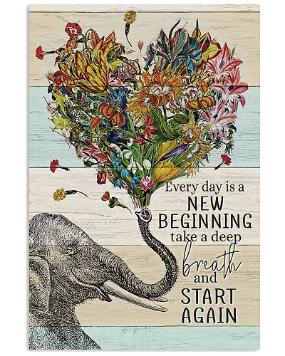 Elephant - Everyday is a new beginning