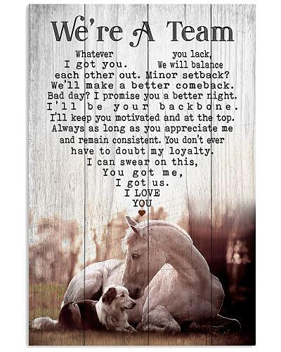 Horse Dog - We're A Team