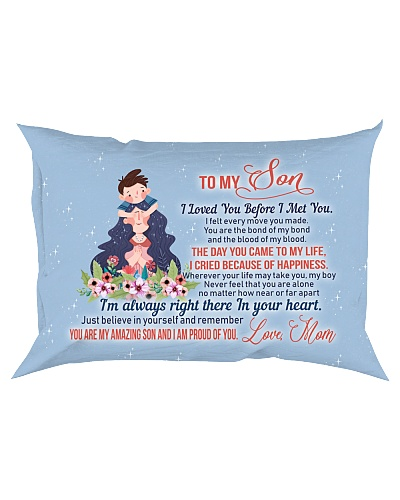 Son Mom - I Met You - Pillow