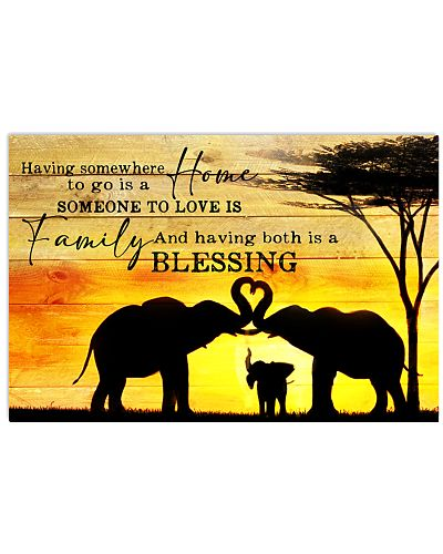 Elephant - Home Family And Blessing
