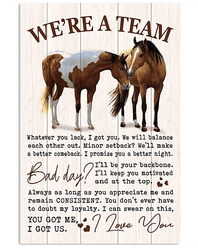 Horse - We're Are A Team V1