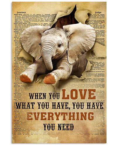 Elephant - When You Love What You Have Vintage