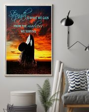 Orcas - Strength Is What We Gain From The Madness 11x17 Poster lifestyle-poster-1