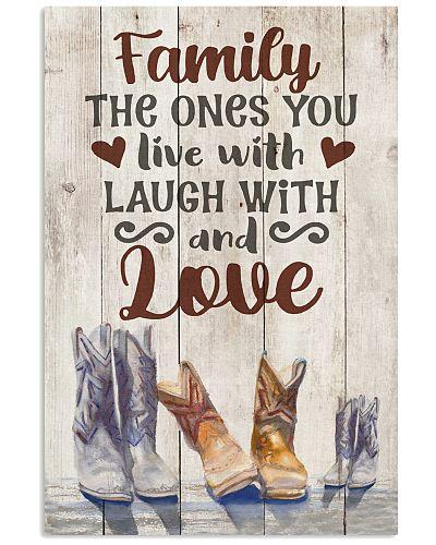 Farm - Cowboy Boots- Family