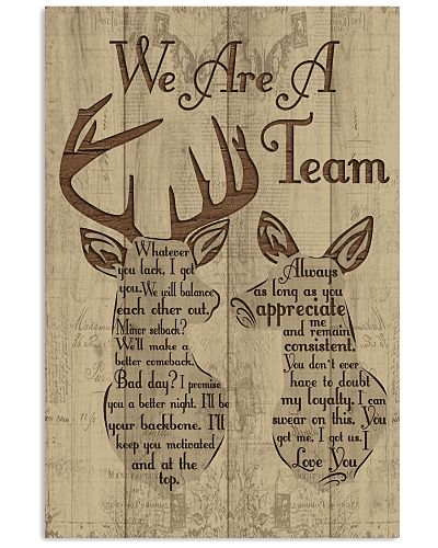 Hunting - We Are A Team
