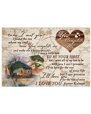 Fishing - The Day I Met You Ver2  17x11 Poster front
