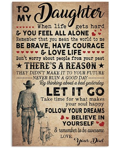 Daughter Follow Your Dream - Dad