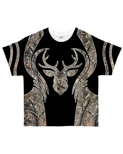 Hunting - Head Buck Camo Brown