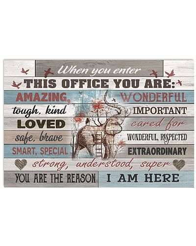 When You Enter This Office