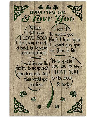 Irish - When I Tell You I Love You