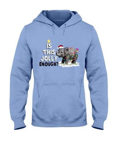 Christmas Of Happy Elephant