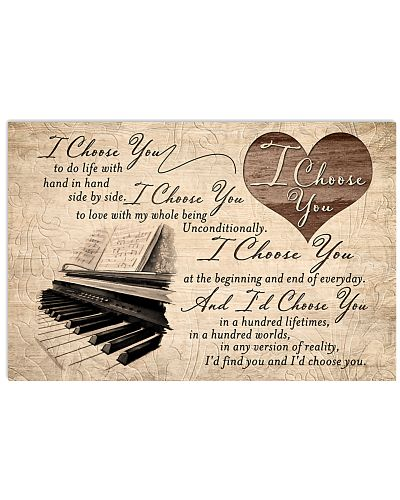 Piano - I Choose You In A Hundred Lifetimes