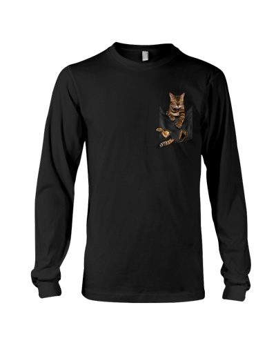 Town Of Cats - Cat - Bengal - On The Pocket -Shirt