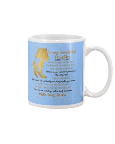 Daughter Mom - Deeply Loved By Me - Mug