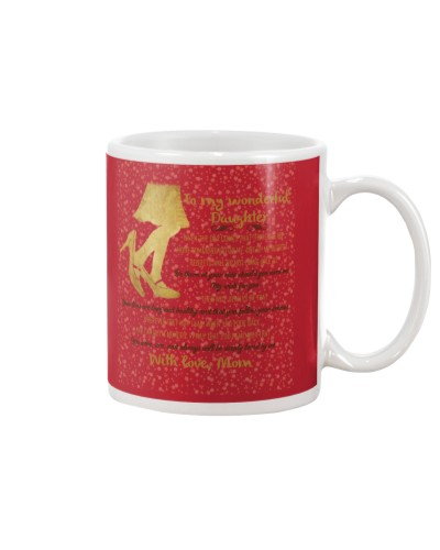 Daughter Mom - Deeply Loved By Me - Mug