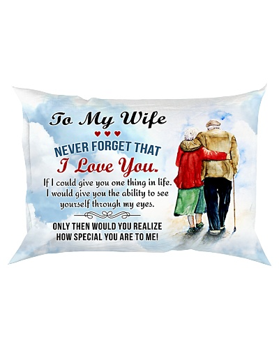 All Is Love - Never Forget That - Pillow