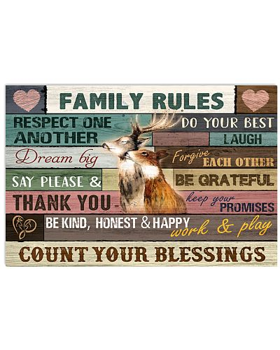 Hunting - Family Rules