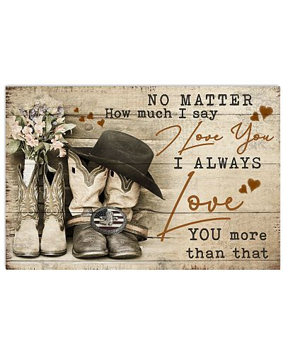 Country - No Matter How Much I Say I Love You