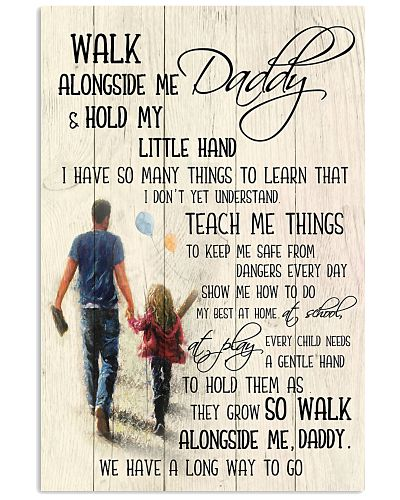 Daughter Father - Walk Alongside Me - Poster