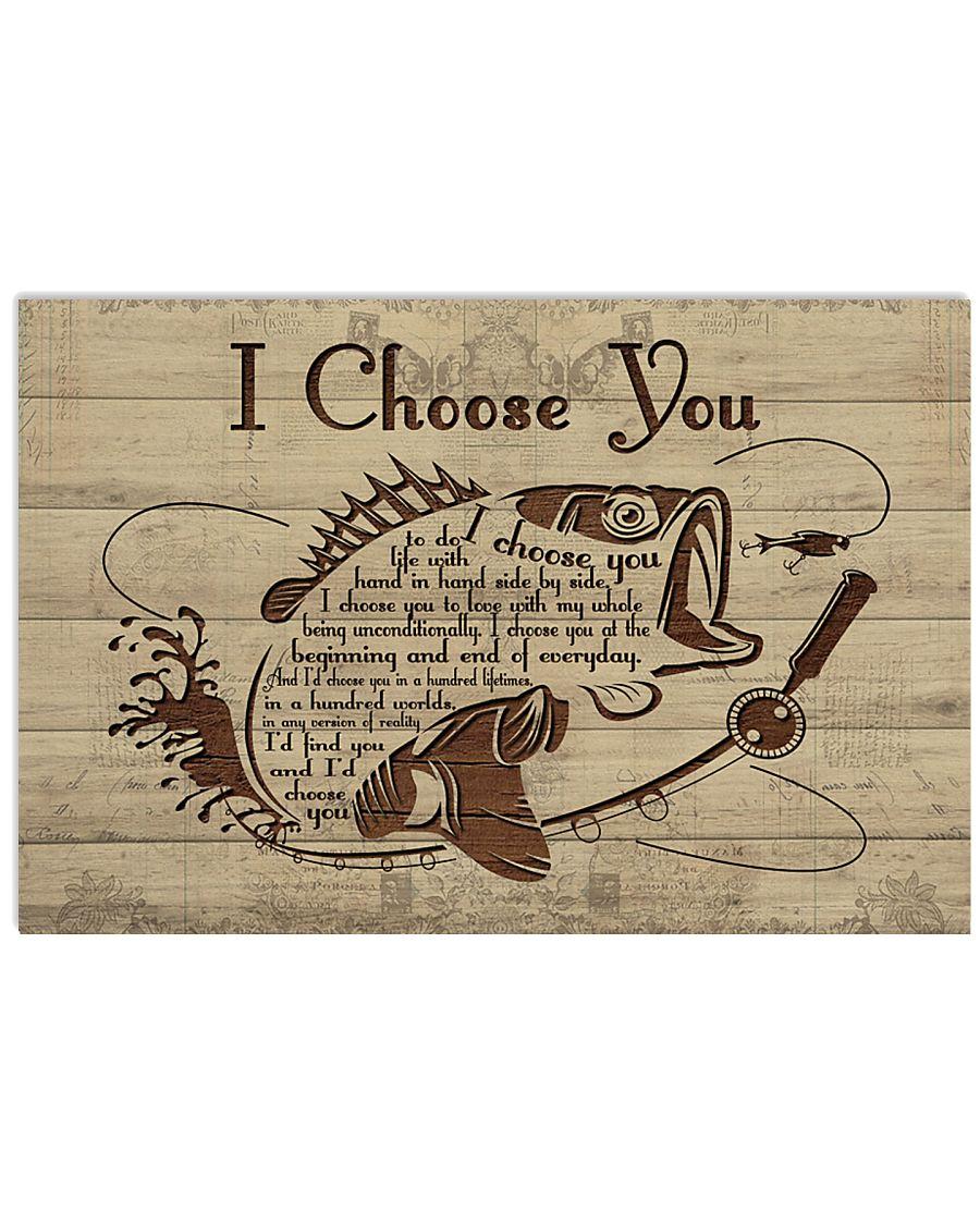 Fishing - I Choose You In A Hundred Lifetimes V2 17x11 Poster