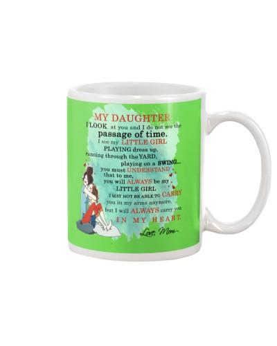 Daughter Mom - In My Heart - Mug