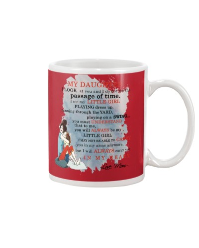 Daughter Mom - In My Heart - Mug