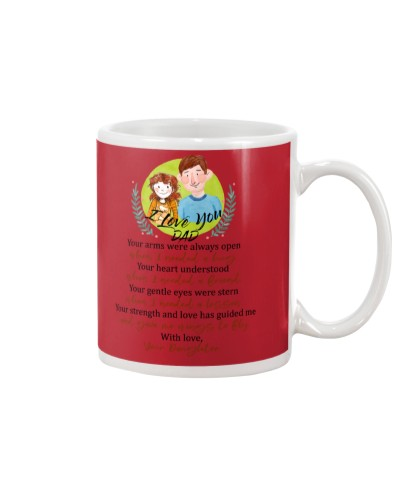 Daughter Dad - Your Heart Understood - Mug