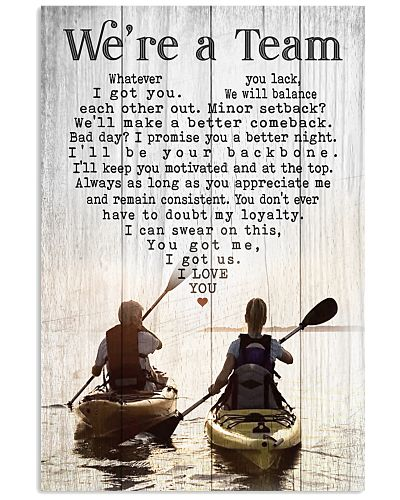 Kayak - We're A Team