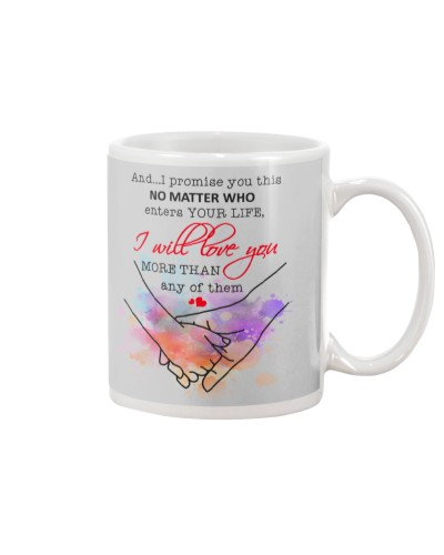 Daughter Mom - I Promise You This - Mug