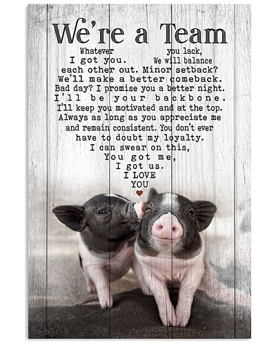 Pig - We're A Team