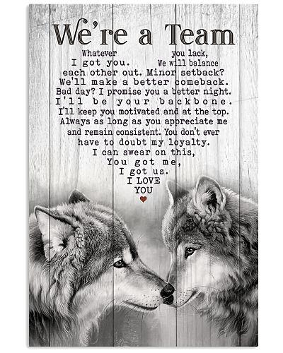 Wolf - We're A Team