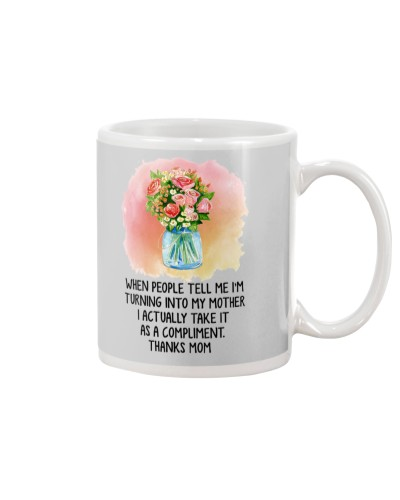 Daughter Mom - I Am Turning Into My Mother - Mug