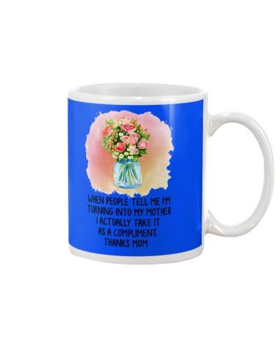 Daughter Mom - I Am Turning Into My Mother - Mug