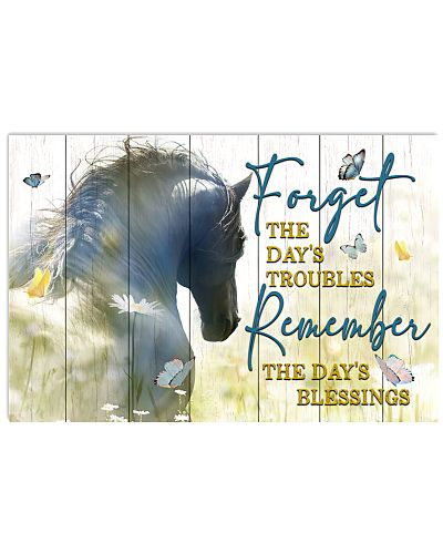 Horse - Forget The Day's Troubles
