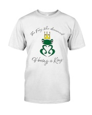 The KING of Frogs Premium Fit Mens Tee front