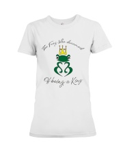 The KING of Frogs Premium Fit Ladies Tee thumbnail