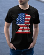 Trump is Our Preseident Classic T-Shirt apparel-classic-tshirt-lifestyle-front-46