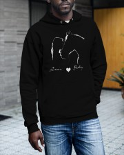 00x7 - I LOVE MY HORSE Hooded Sweatshirt apparel-hooded-sweatshirt-lifestyle-front-17