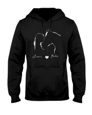 00x7 - I LOVE MY HORSE Hooded Sweatshirt front