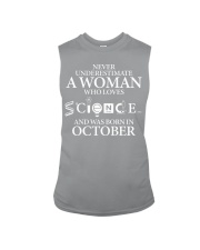 OCTOBER WOMAN LOVE SCIENCE Sleeveless Tee tile
