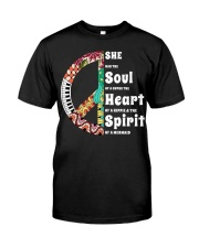 She Has The Spirit Of A Mermaid Classic T-Shirt front