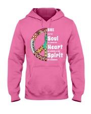 She Has The Spirit Of A Mermaid Hooded Sweatshirt thumbnail